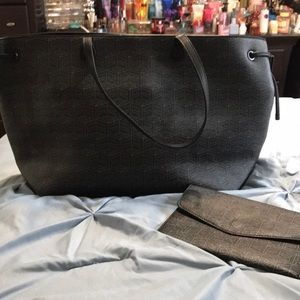 Like 🆕 Foley+Corrina tote bag W/ matching clutch